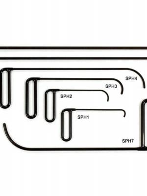 PDR 7-dílná sada háků na boční panely
